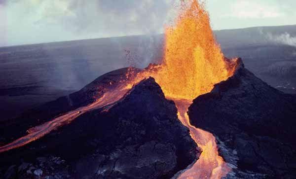 Caracteristicas del volcan hawaiano