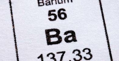 Caracteristicas del bario